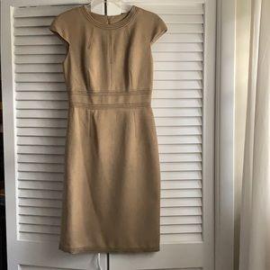 David Meister cap sleeve dress